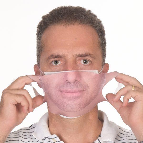 fotografli maske