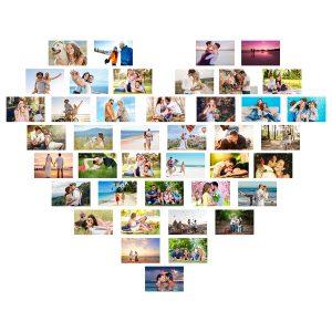 Kalp Şeklinde Duvar Panosu